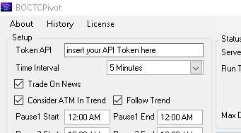 insert your API Token here
